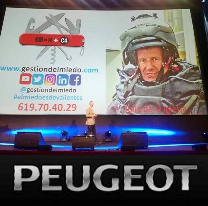 ponencia julio de la iglesia en la onvención anual de Peugeot España