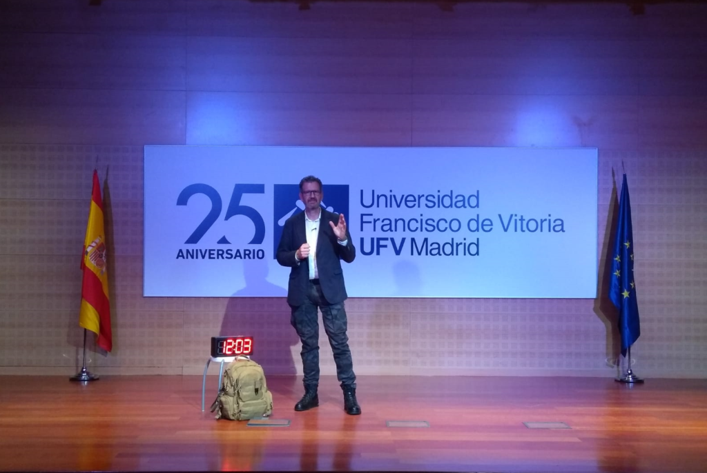 Julio de la Iglesia, TEDAX y Coach, en la Universidad Francisco de Vitoria