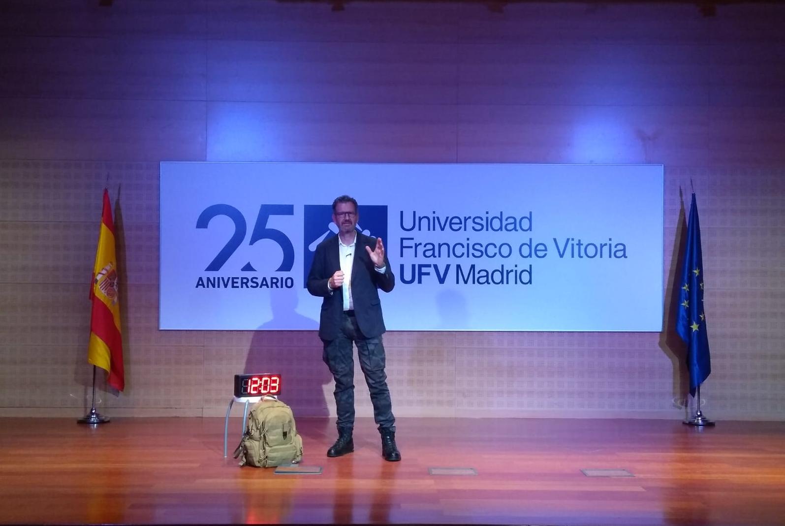 Julio de la Iglesia, TEDAX y Coach, en la Universidad Francisco de Vitoria