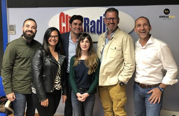 Julio de la Iglesia en el programa Empresas Felices de Click Radio TV