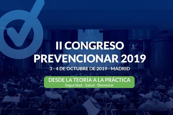 II Congreso Prevencionar de Madrid