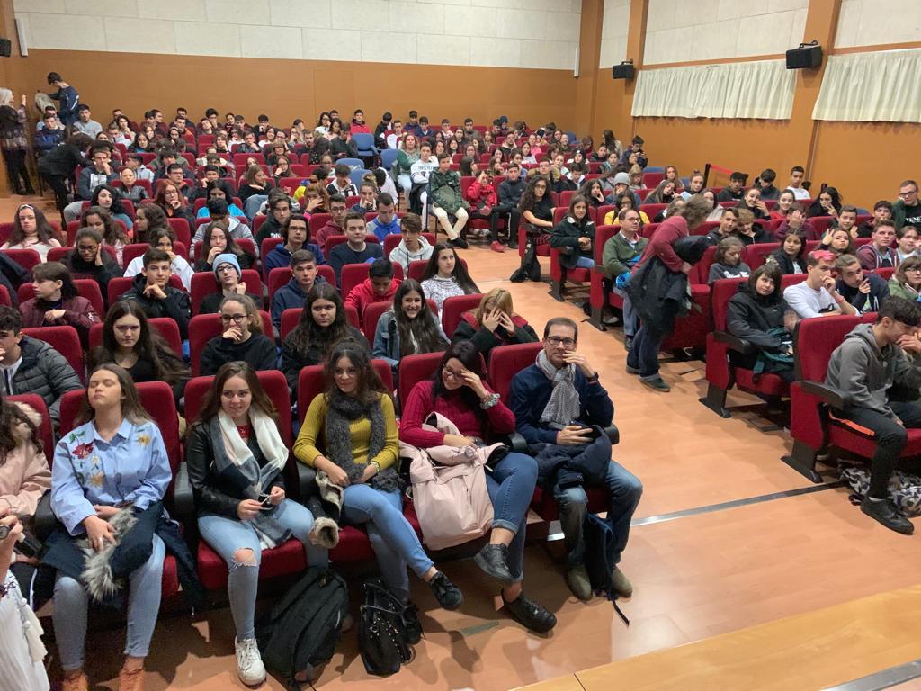 Público asistente a la ponencia de Julio de la Iglesia en la III Semana del Empredimiento de Valdemoro