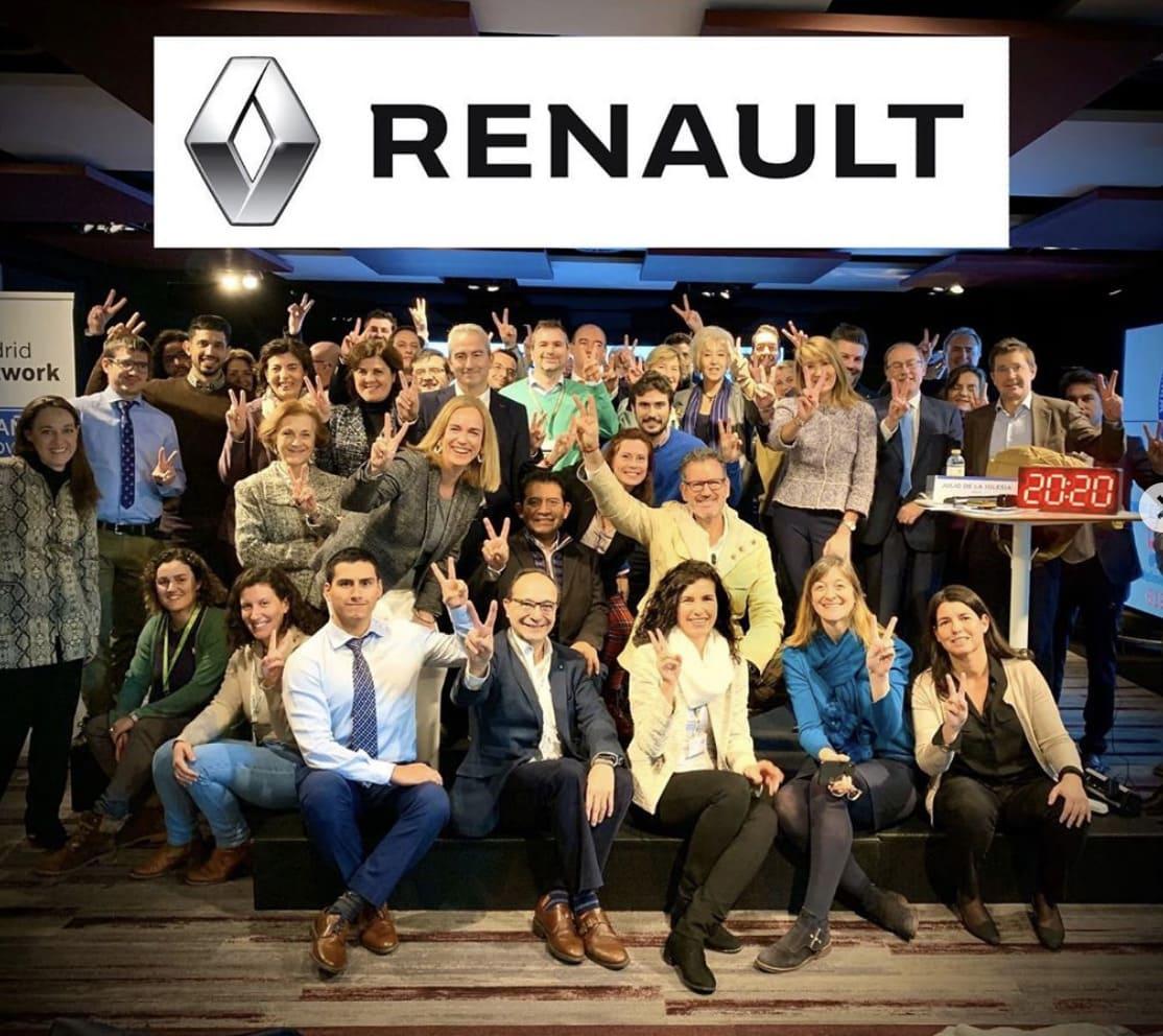 Julio de la Iglesia en la Madrid Network Renault Nissan Consulting (2/9)