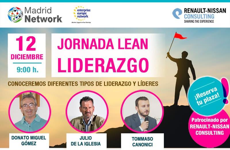 Julio de la Iglesia participará en la Sesión Lean Leadership Madrid Network