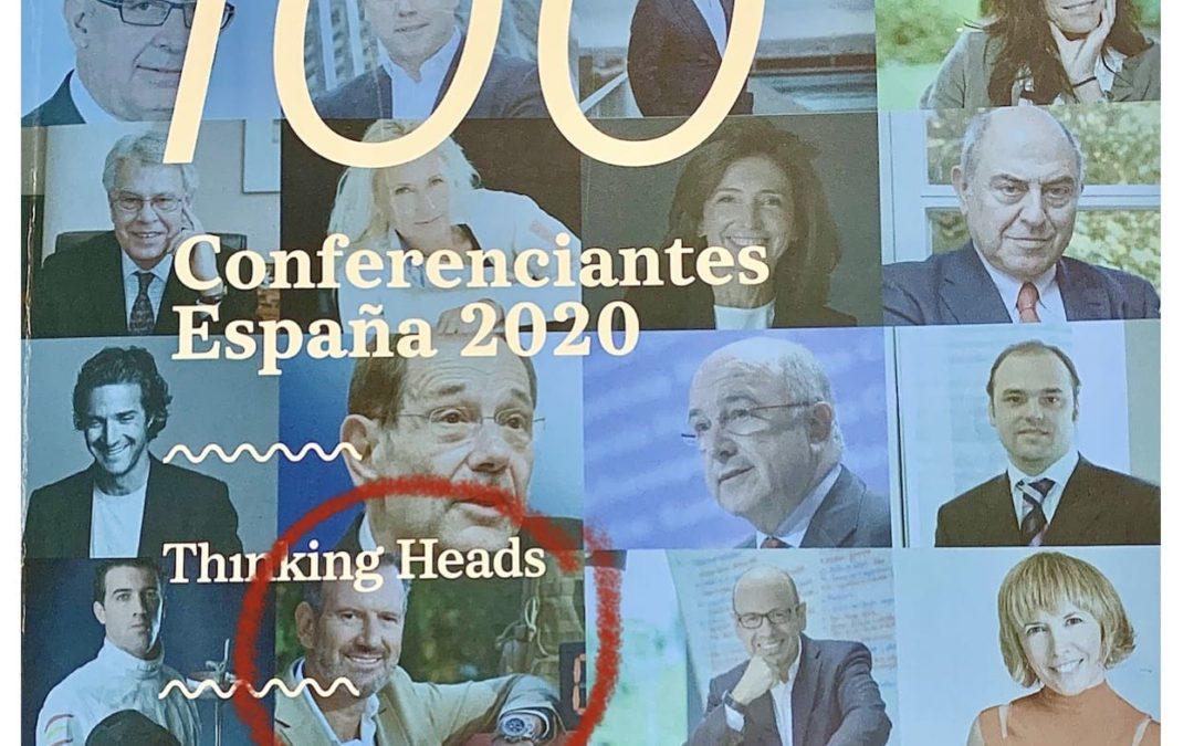 Julio de la Iglesia, en el Top 100 Conferenciantes de España 2020