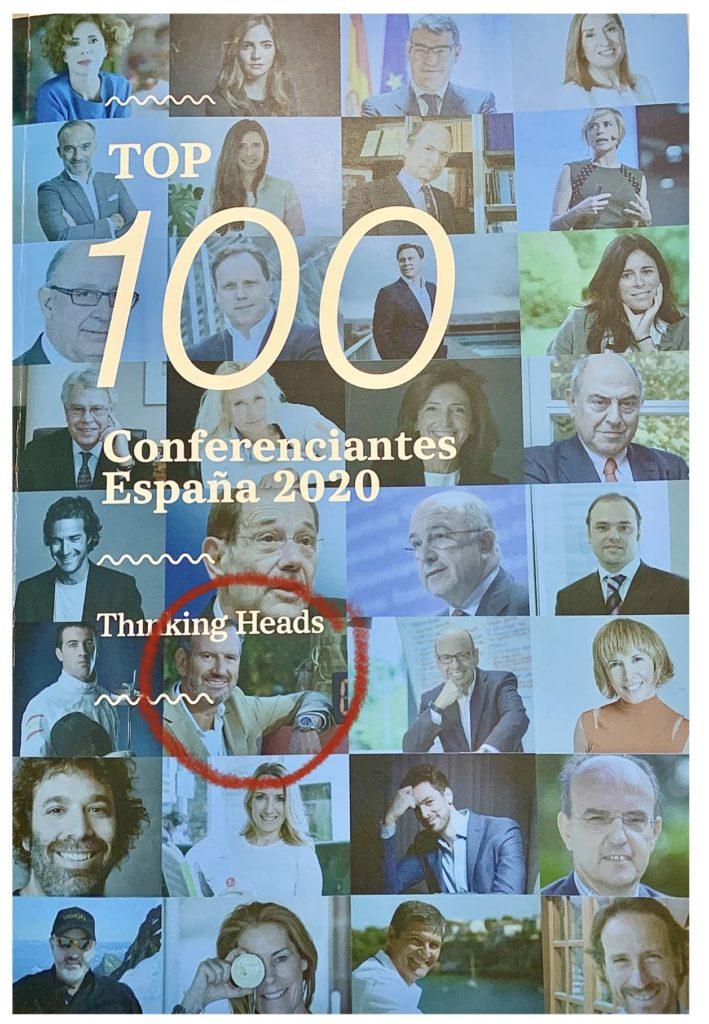 Julio de la Iglesia, Top 100 Conferenciantes España 2020