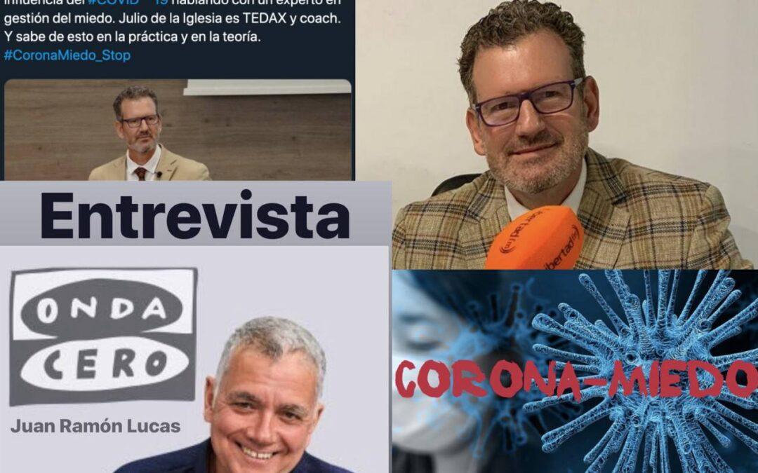 Julio de la Iglesia habla sobre el coronavirus y el 'coronamiedo'