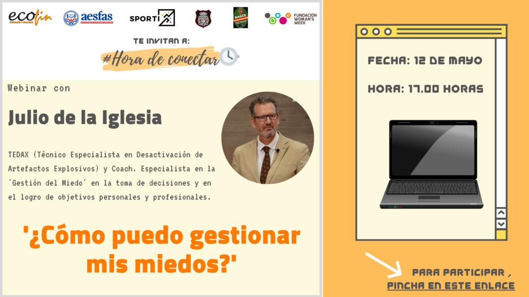 Julio de la Iglesia imparte un webinar en Fundación Woman's Week y Foro Ecofin