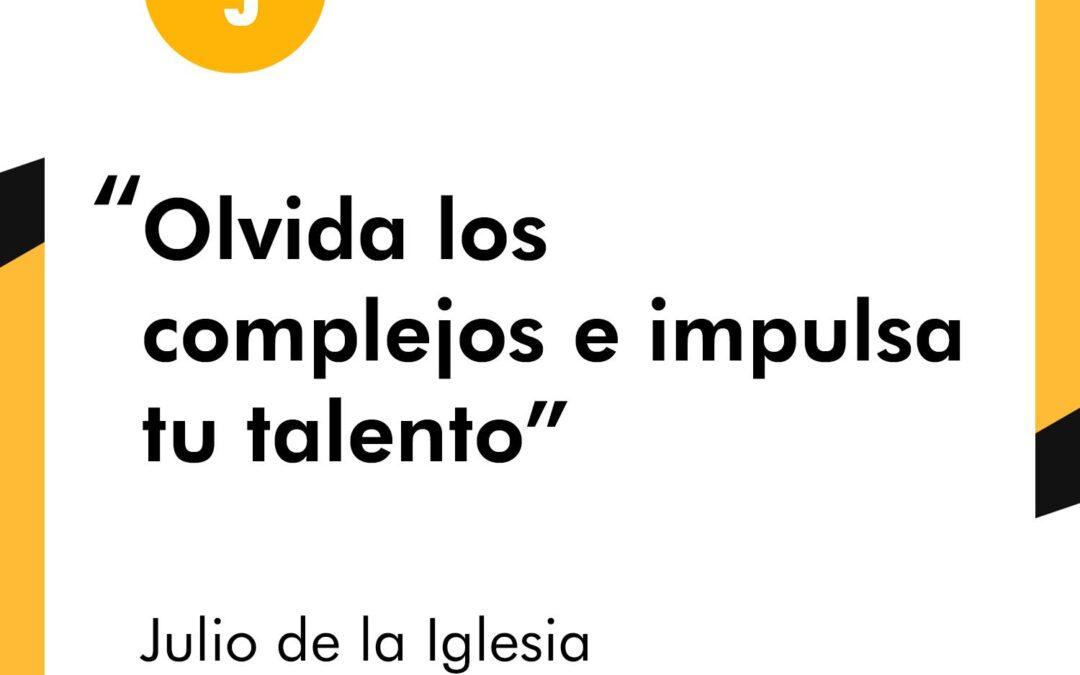 Julio de la Iglesia es entrevistado en Talento Juntos por Diego Martos