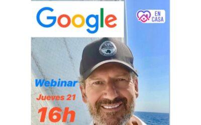 Webinar de Julio de la Iglesia a empleados de Google España