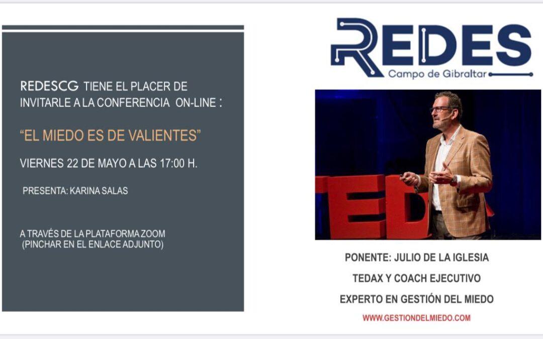 Conferencia online de Julio de la Iglesia con REDESCG