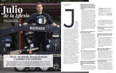 Álvaro Sánchez León entrevista a Julio de la Iglesia en la Revista Influencers