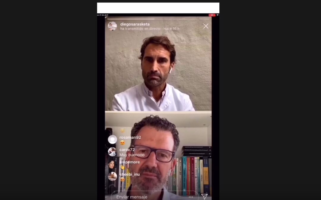 Entrevista de Diego Sarasketa a Julio de la Iglesia