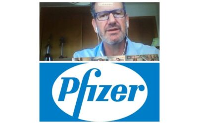 Julio de la Iglesia da una conferencia a los empleados de Pfizer