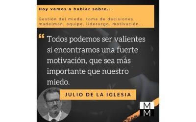 Julio de la Iglesia es entrevistado en Más Allá de la Marca Personal