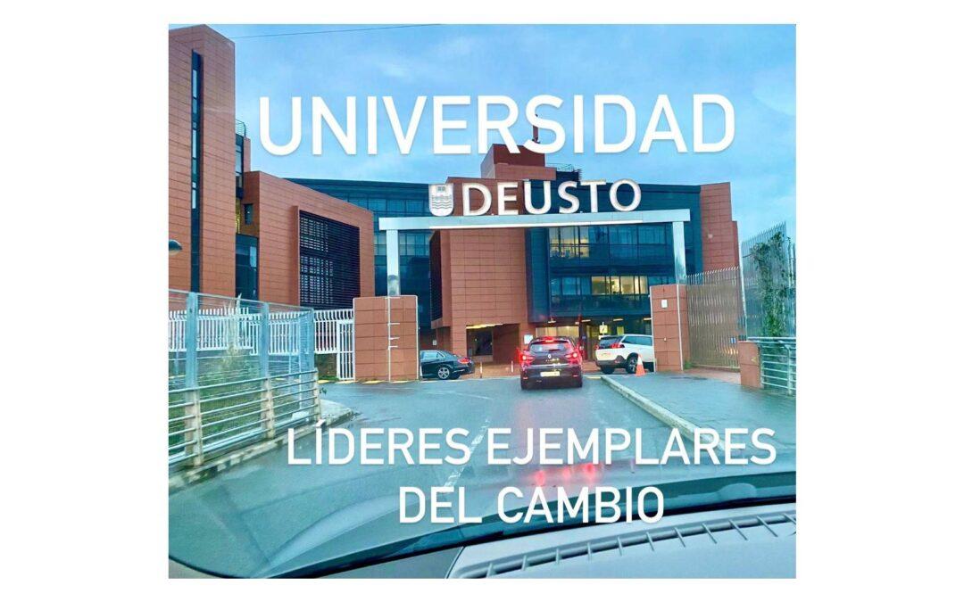 """Julio de la Iglesia imparte el taller """"Líderes Ejemplares del Cambio"""" en la Universidad de Deusto"""