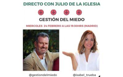 Julio de la Iglesia e Isabel Trueba, en directo en Instagram TV