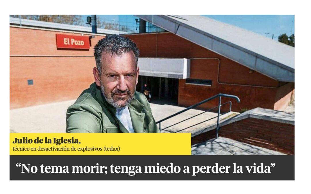 Julio de la Iglesia, en 'La Contra' de La Vanguardia