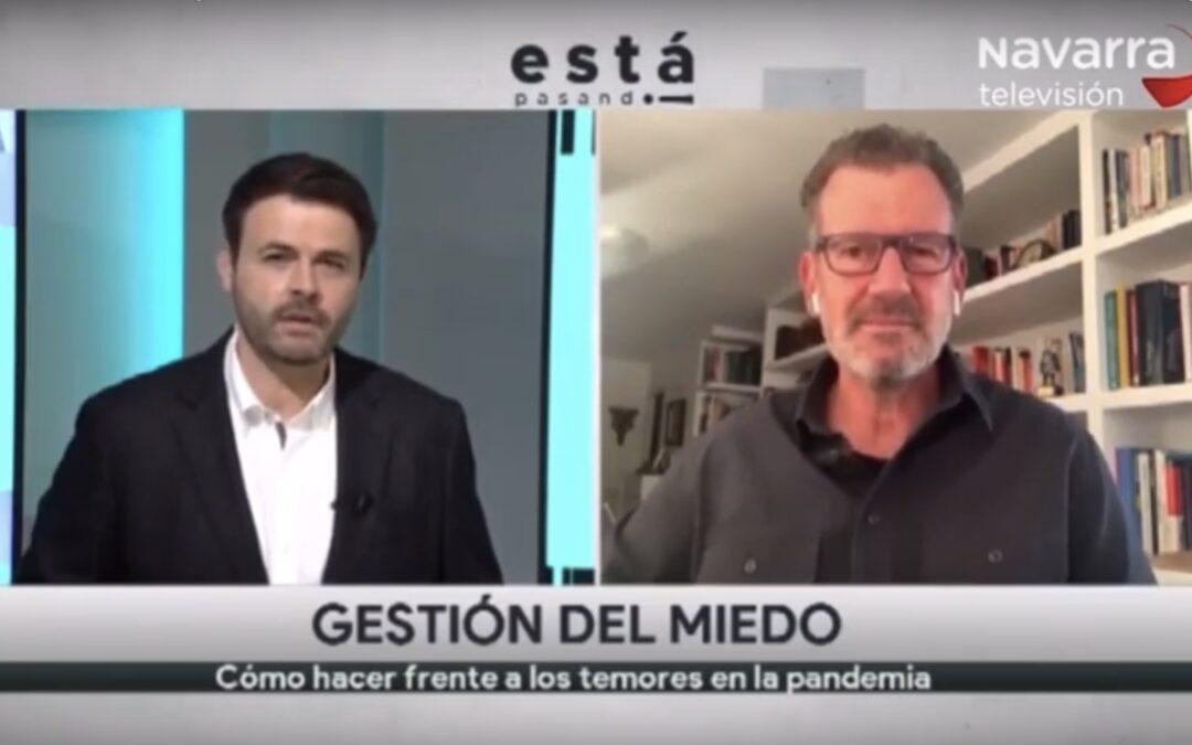 Entrevista a Julio de la Iglesia en 'Está pasando', de Navarra Televisión