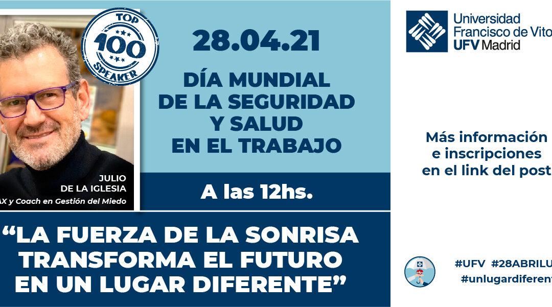 Julio de la Iglesia, ponente en la Universidad Francisco de Vitoria