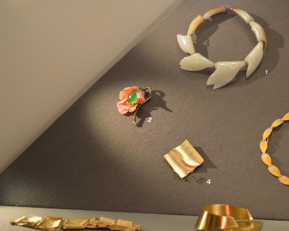 Opal Poppy Brooch showcased at Timeless Innovations.