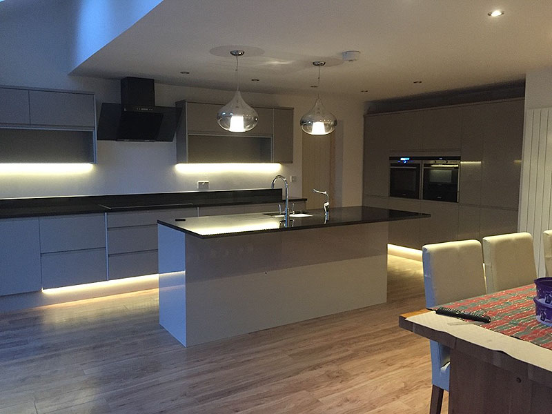 Modern kitchen design, Sudbury