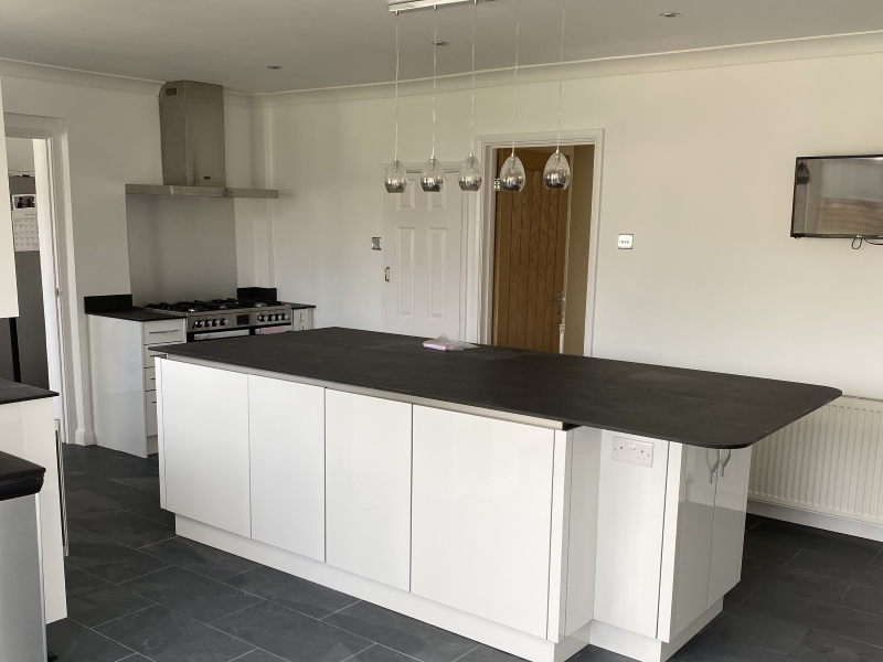 Sparkling kitchen and utility room, Braintree