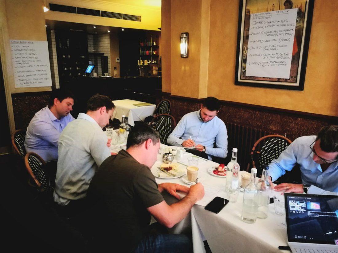 Taking notes hospitality roundtable