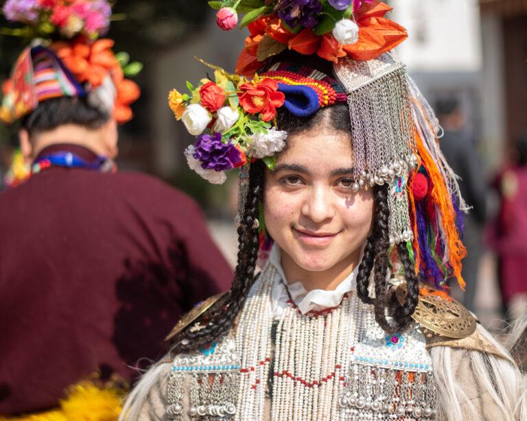 Brokpa Girl Ladakh