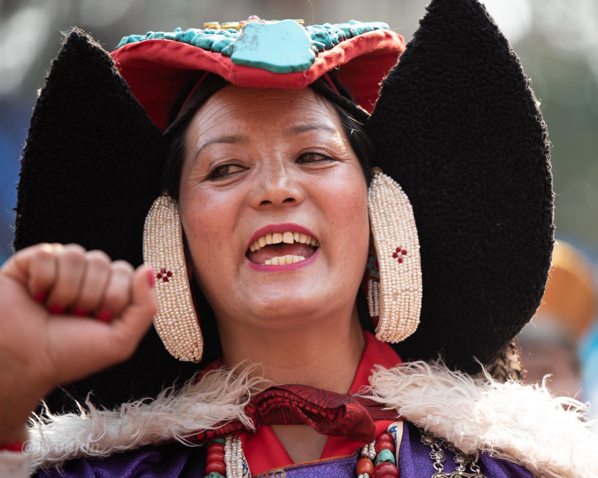 Perak Ladakhi Headdress-3