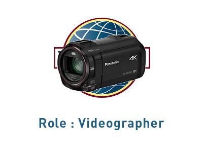 Role Videographer
