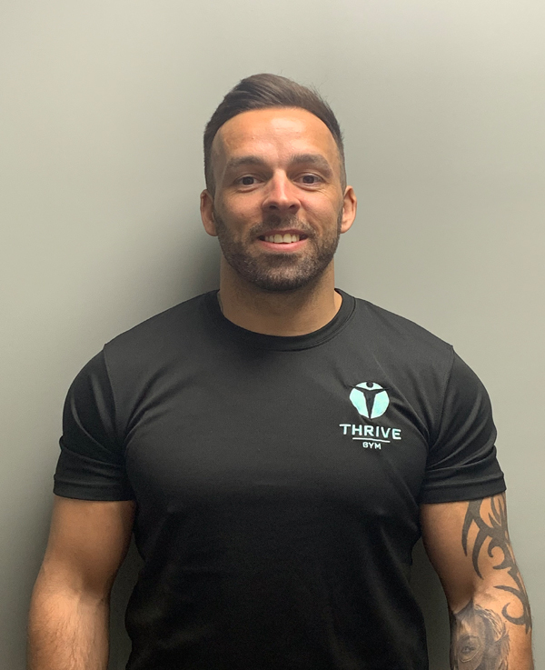Nathan Myer is a personal trainer at Thrive Gym