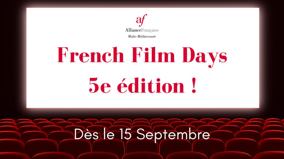 French Film Days 5e edition