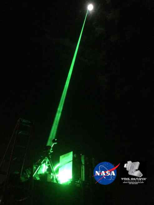 NASA ISS Space Sky Laser
