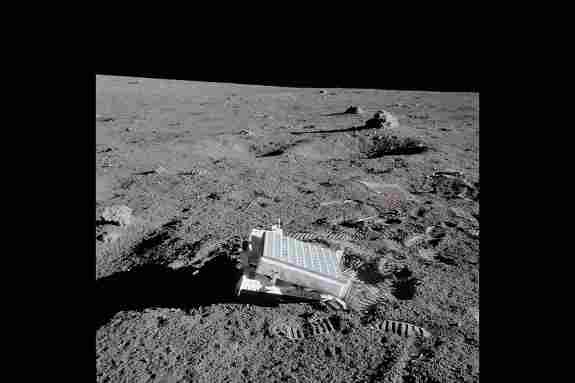Laser Reflecting Panel Deployed By Apollo 14 Astronauts Crew On The Moon In 1971