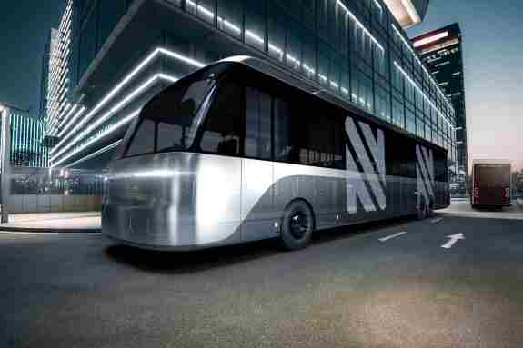 Future contactless bus