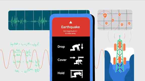 Android Phone Earthquake Alert System
