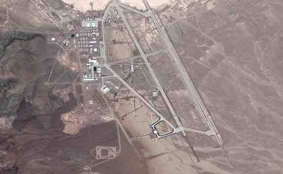 AREA 51 Map View