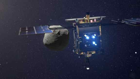 Spacecraft for asteroid