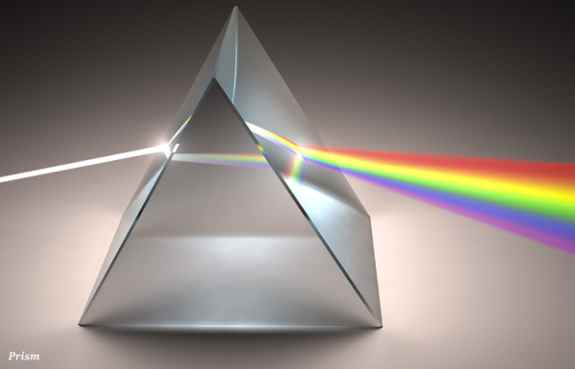 when many medium-to-high energy photons strike a crystal. If we struck this prism with a single photon and space were discrete, the crystal could only possibly move a discrete, finite number of spatial steps, but only a single photon would either reflect or transmit.