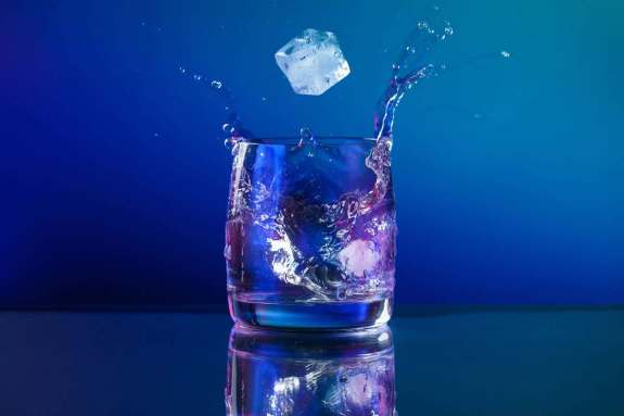 Supper cooled water stable liquid