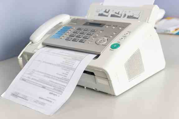 how exactly do fax machines work
