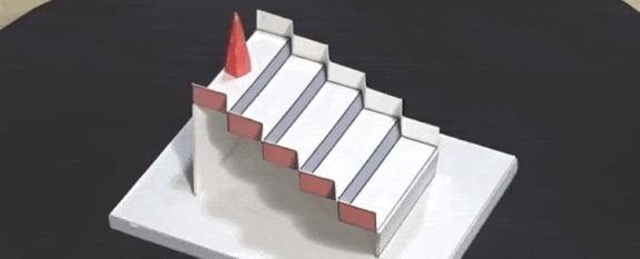brain bending 3D staircase won best illusion of the year 2020