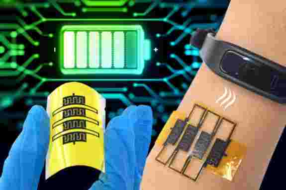 micro-supercapacitors can harvest energy from breathing and motion