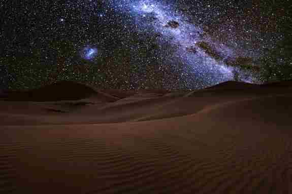 Why do deserts get so cold at night?