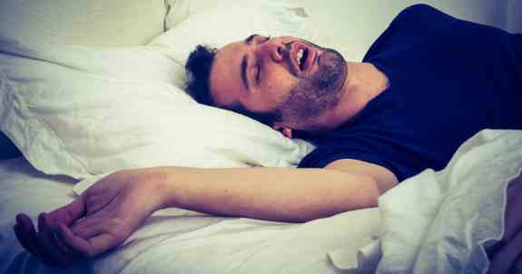 Why do people breathe so loudly when they sleep