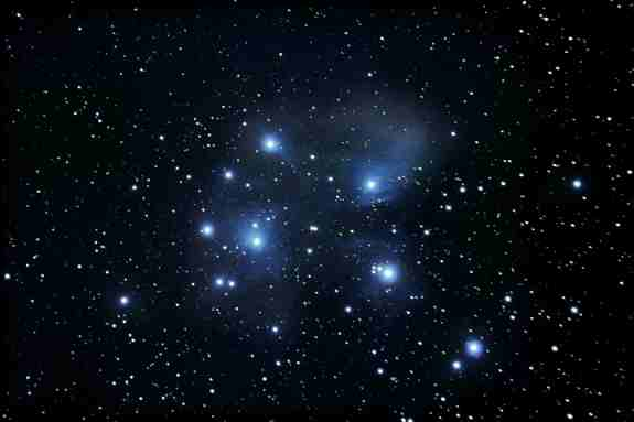 Why pleiades is called seven sisters?