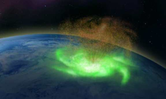 Space Hurricane detected on Earth, for the first time