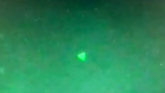 Pentagon Confirms 'Pyramid-Shaped' UFO Video Footage Is Authentic
