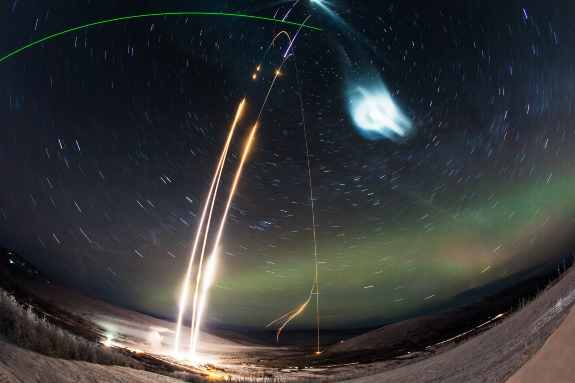 Mysterious Night Shining Cloud In Earth Atmosphere May Influence Space Launch Traffic